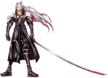 Sephiroth from Final Fantasy VII.
