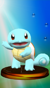 Squirtle trophy from Super Smash Bros. Melee.