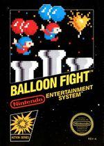 Box art of Balloon Fight.