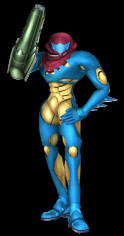 Fusion Suit Samus in Project M 3.6.