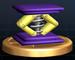 Spring trophy from Super Smash Bros. Brawl.