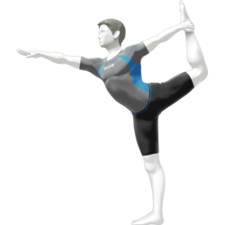 The Male Wii Fit Trainer as he appears in Super Smash Bros. 4.