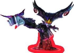 Source: Bayonetta Wiki. Official artwork of Madama Butterfly from Bayonetta 2.