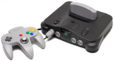 Better quality picture of the Nintendo 64, taken from SmashWikia.