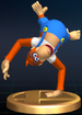 Lanky Kong trophy from Super Smash Bros. Brawl.